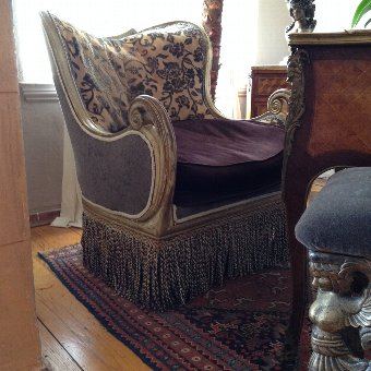 Antique Pair of Club Chairs