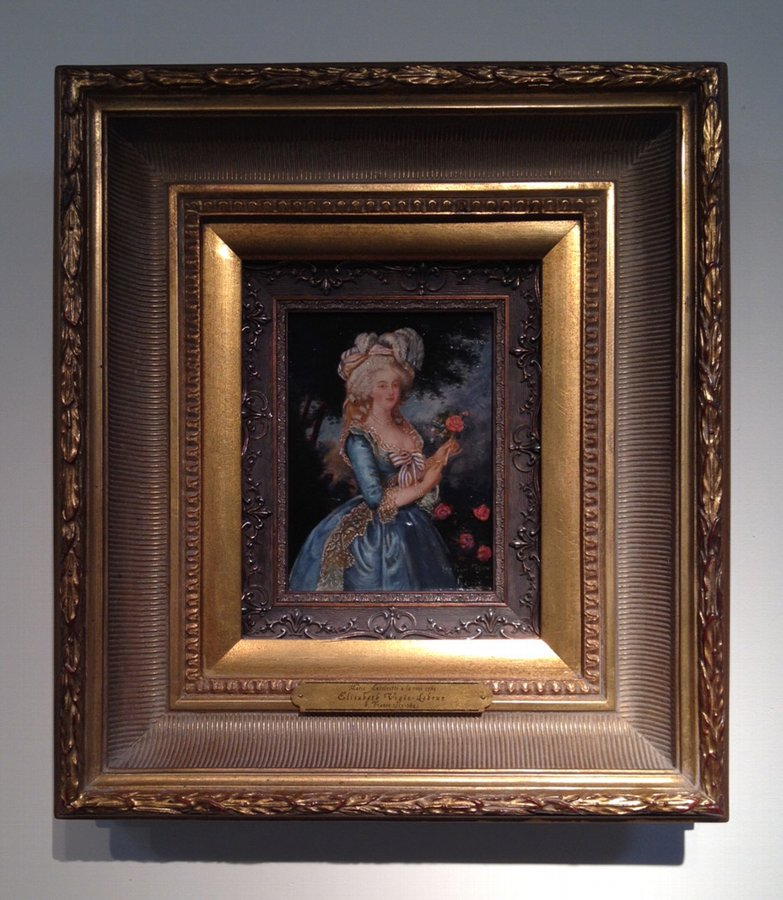 ON SALE through June: Marie Antoinette à La Rose, Victorian Study, after Louise Elisabeth Vigée L...