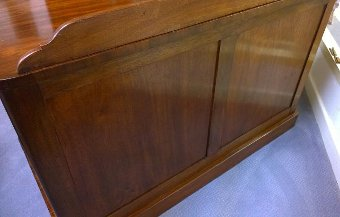 Antique 19th Century Mahogany Kneehole Chest, Dressing table or Desk