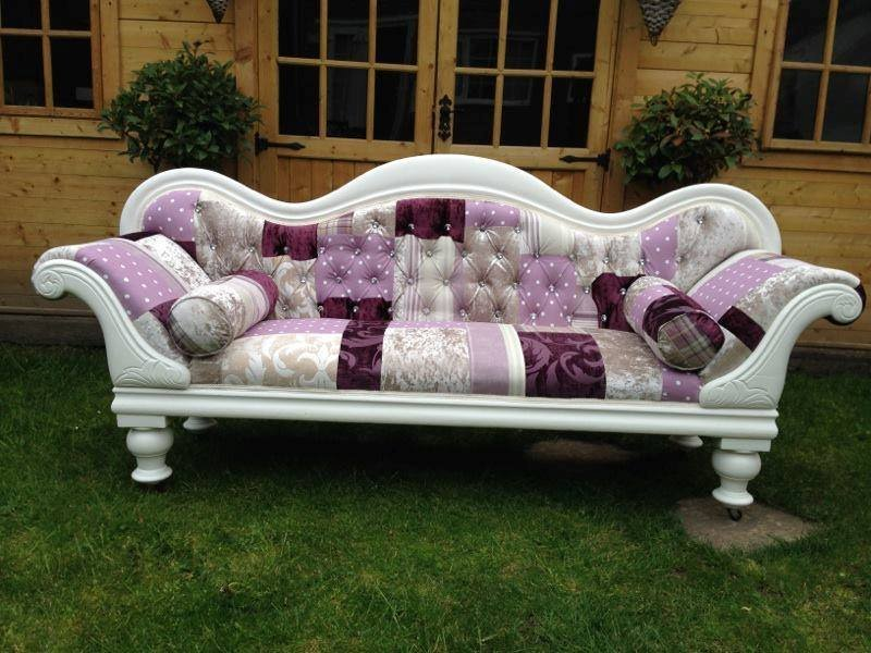 Victorian Refurbished Patchwork Sofa