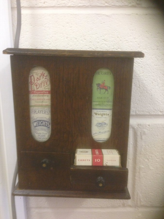 Old Cigarette Vending Machine