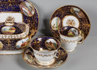 Antique Early 19th Century Part Tea Service