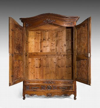 Antique 18th Century Chestnut Armoire