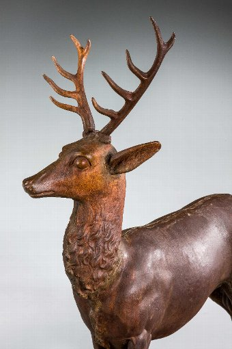 Antique 19th Century Stag
