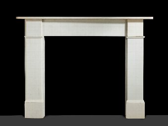 Antique 20th Century Italian Marble Fireplace