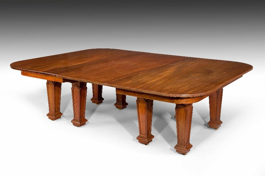 Antique 19th Century Dining Table By Holland And Sons