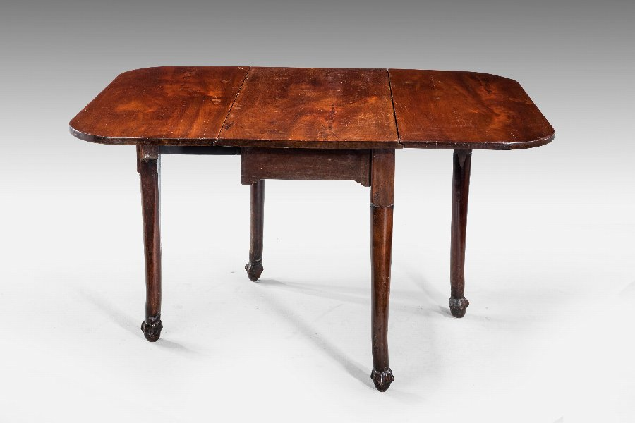 Antique Late 18th Century Mahogany Drop Leaf Table