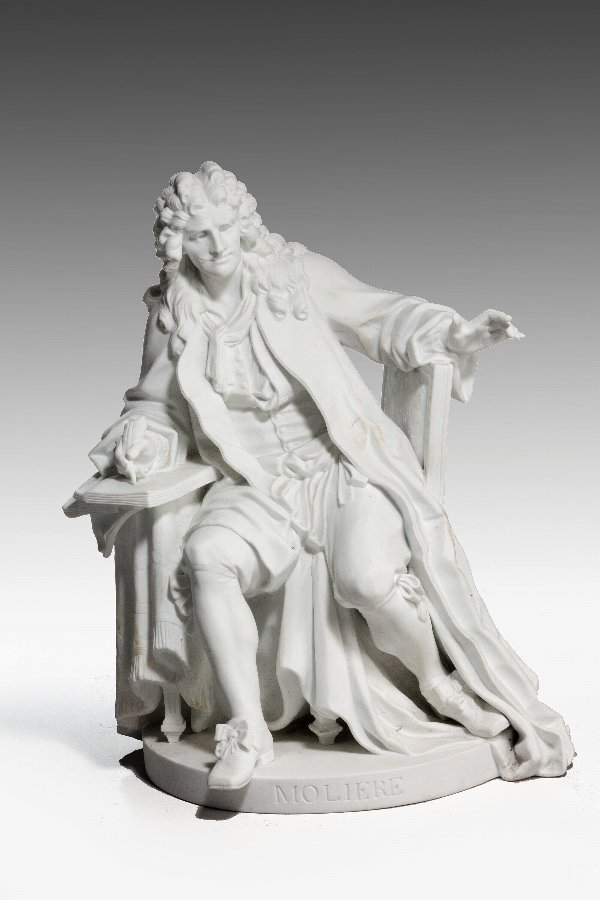 Antique 19th Century Figure of Molière