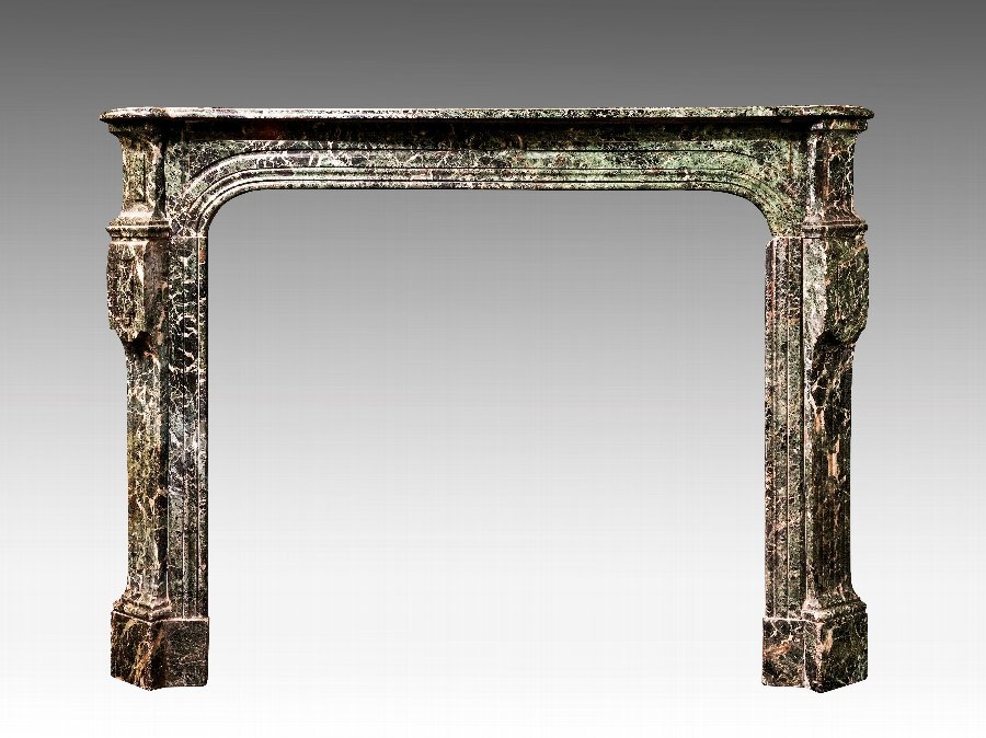 Antique Late 19th Century Marble Fire Surround