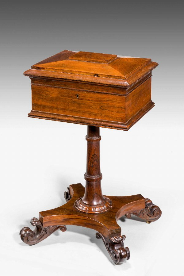 Regency Period Rosewood Tea Poy