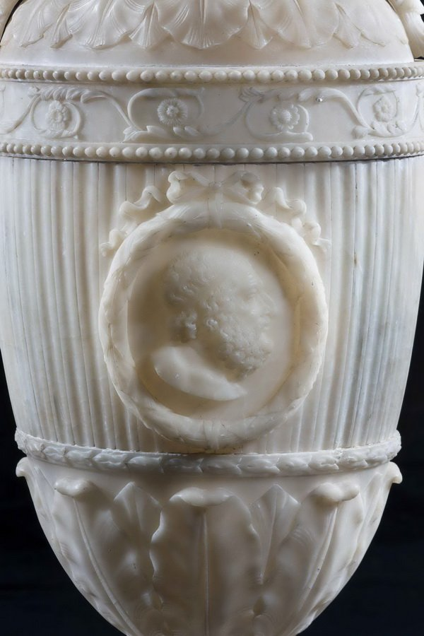 Antique  19th Century Alabaster Vase