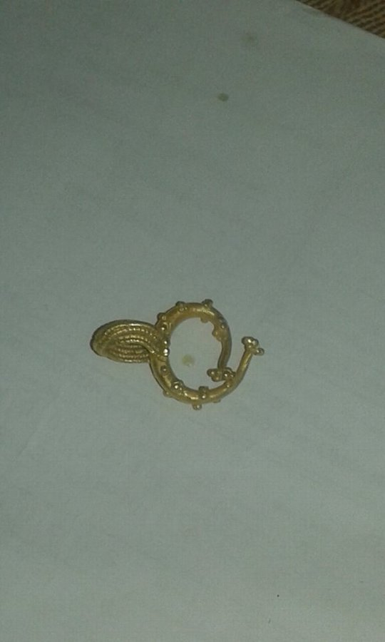 Antique thracian gold ring