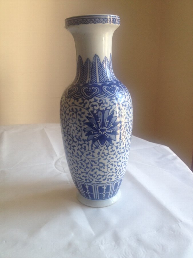 Antique Chinese Blue Vase