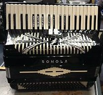 Sonola Accordion, Model LM - PRICE REDUCED BY £100