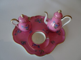 Antique Rare Mid 19th Century Child's Tea Set