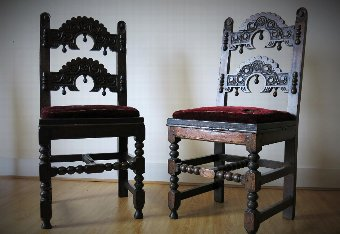 16th & 17th Century Period Oak Country English Furniture, Medieval Carving, Early Lighting, Metal...