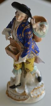 Samson Porcelain Figure 19th Century
