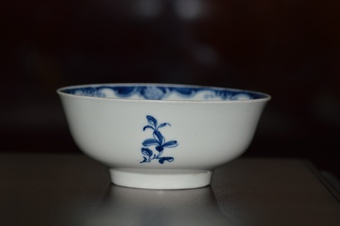 Antique 18th Century Worcester porcelain (Dr Wall/1st period) small bowl