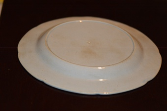 Antique Rare - Riley Dromedary Dessert Plate - c1820's - Blue and White
