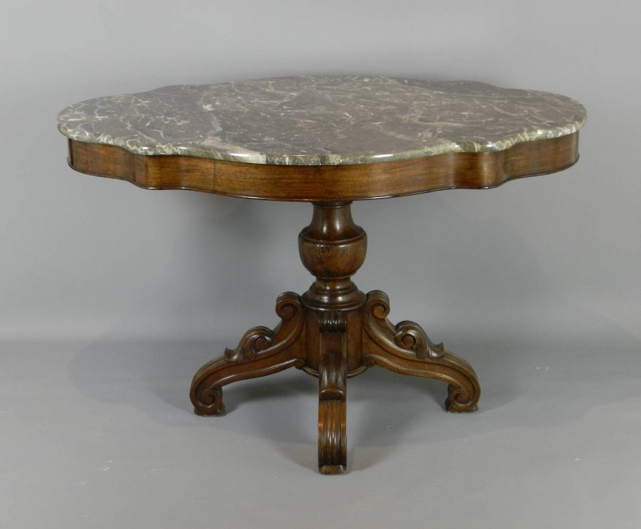 Mid 19th C Gueridon / Violin Centre Table