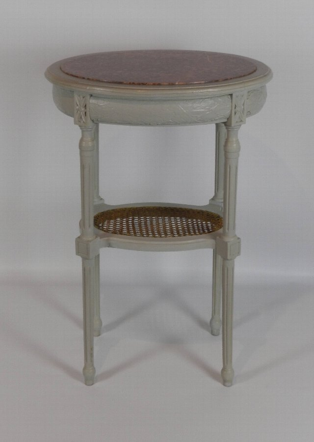 Antique French Antique Louis XVI Revival Side Table