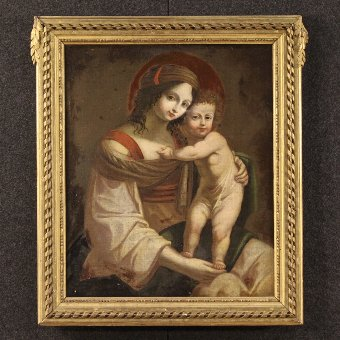 Antique Antique Italian painting
