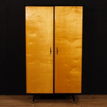 Antique French design wardrobe with two doors