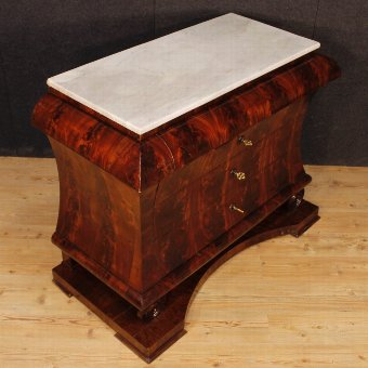 Antique Antique Spanish dresser with marble top from 19th century
