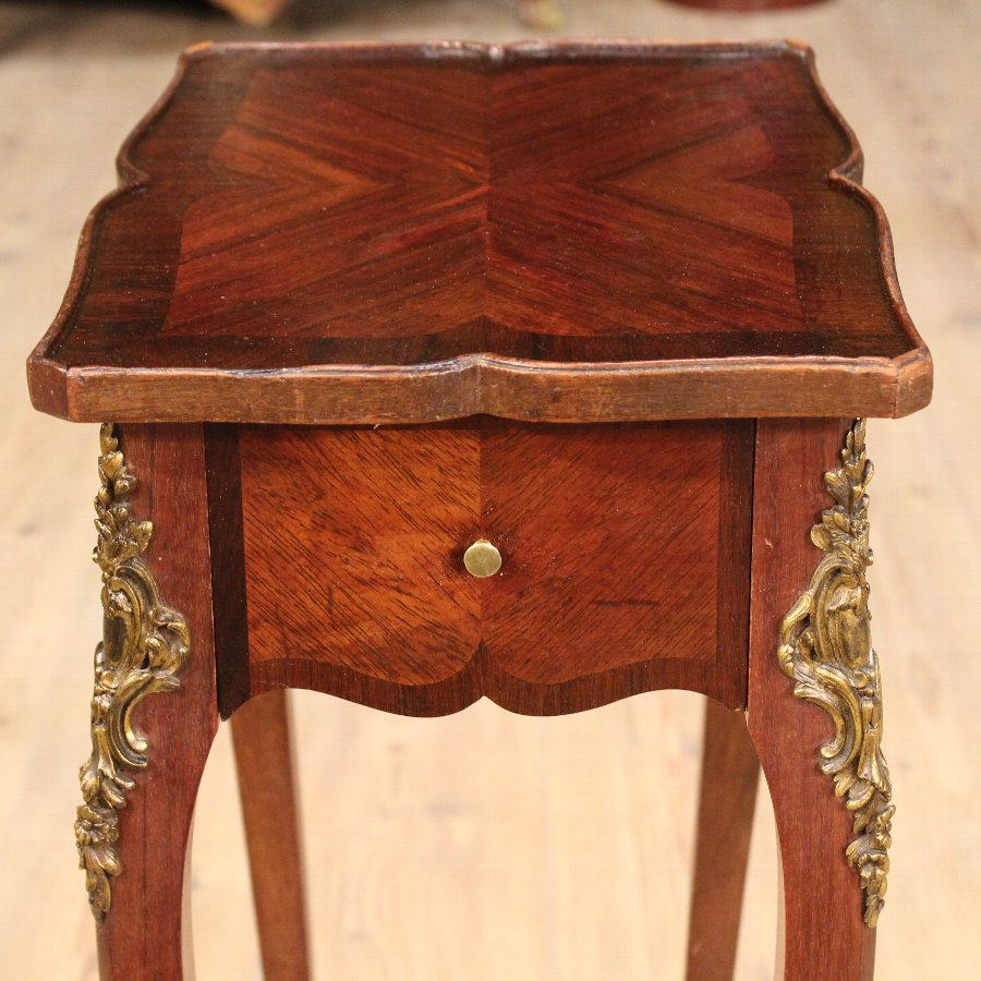 Antique French low table of the 19th century