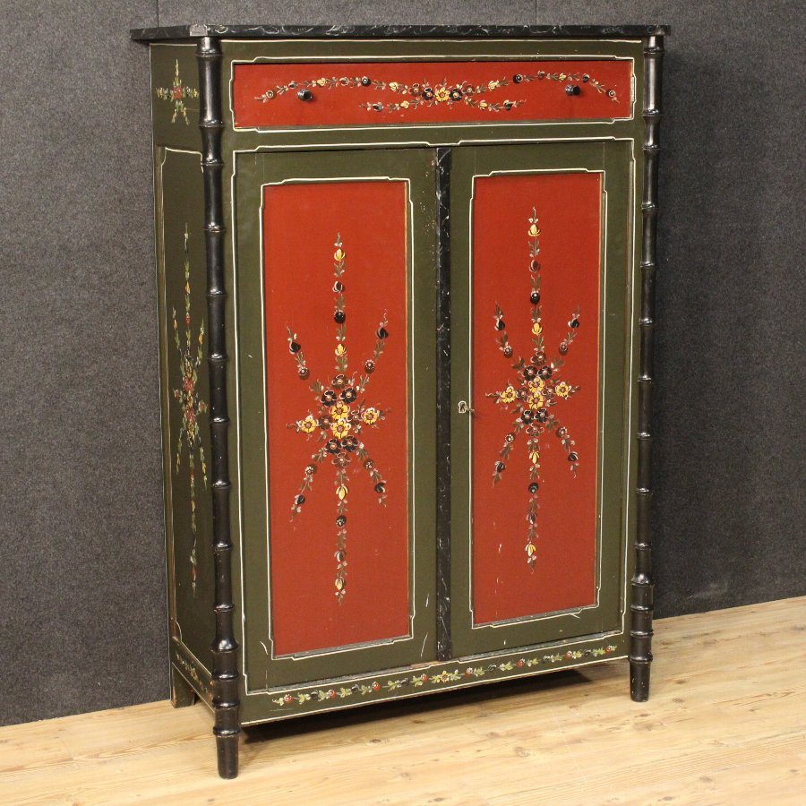 Dutch hand-painted cabinet of the 20th century