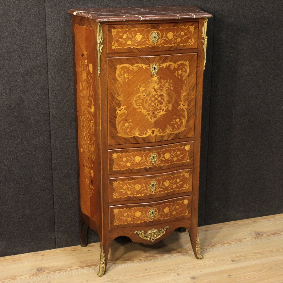 French inlaid secrétaire from the early 20th century