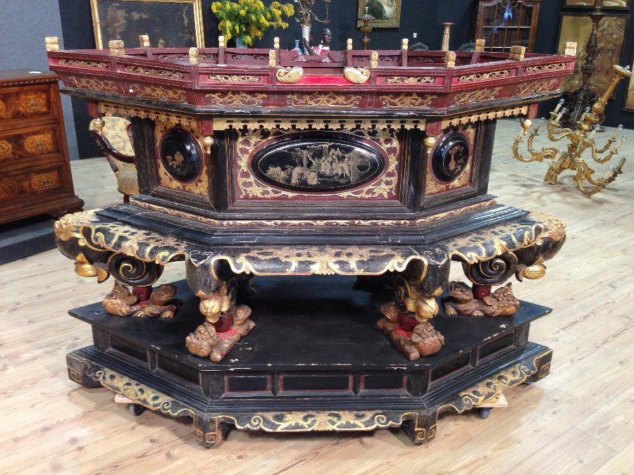 Chinese living room furniture of the 19th century