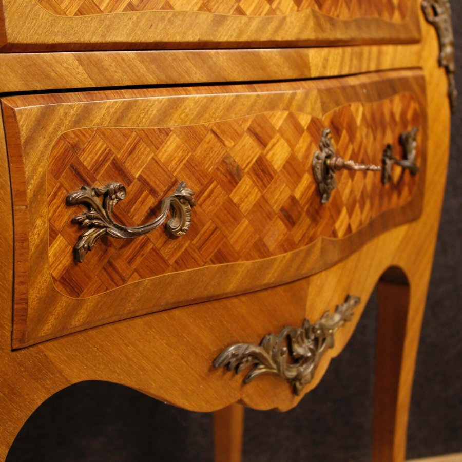 Antique Small French inlaid dresser in Louis XV style
