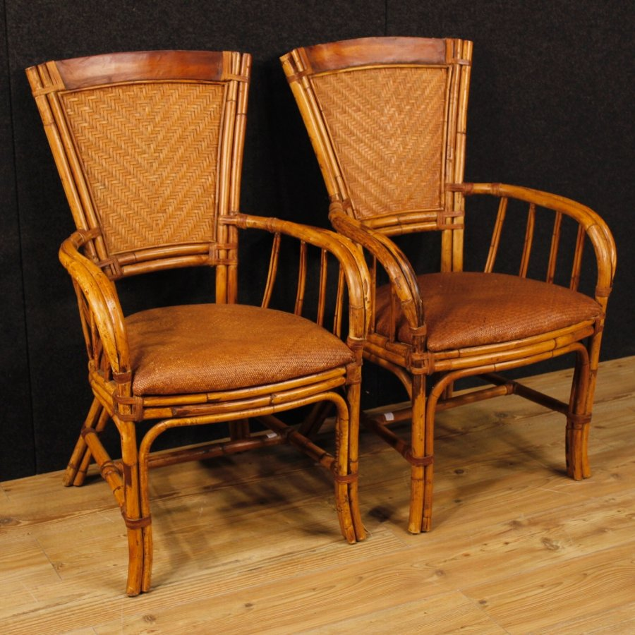 Pair of design armchairs stamped Kalma Ramon Castellano