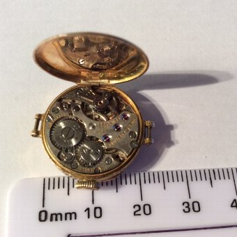 Antique Rolex case and movement