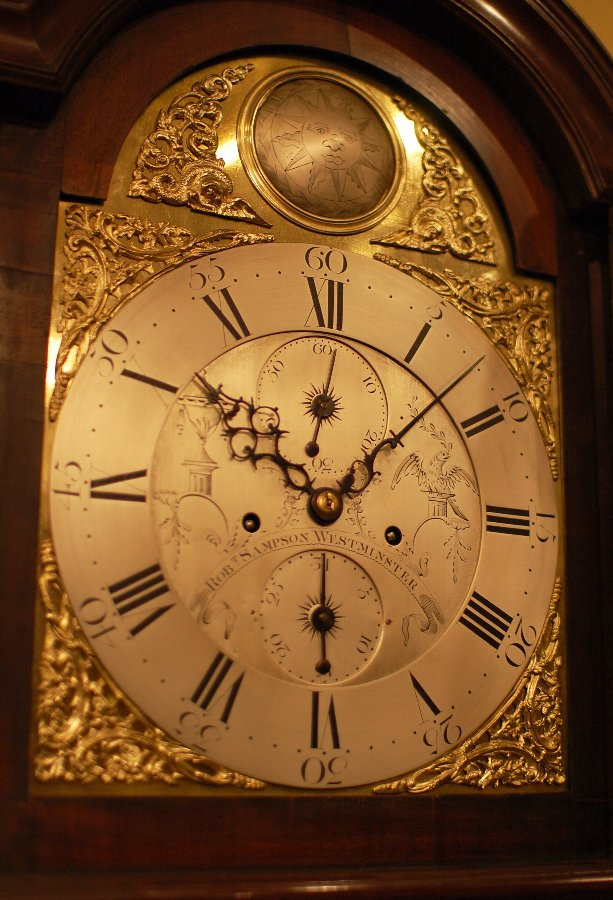 Antique London Longcase clock by Sampson of Westmister, London.