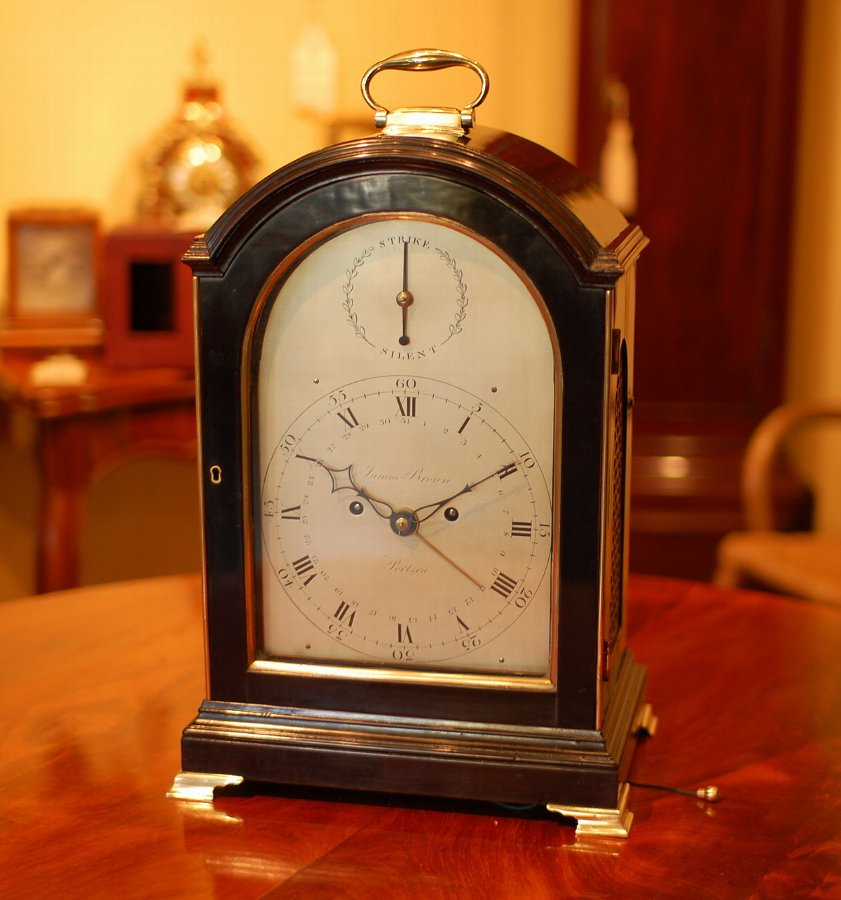 James Brown of Portsea - Bracket Clock