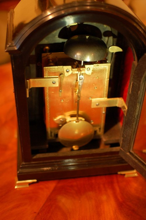 Antique James Brown of Portsea - Bracket Clock