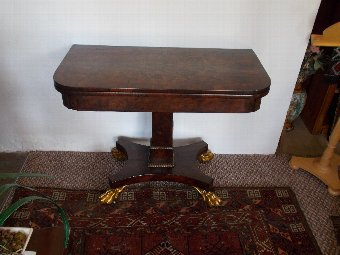Antique Edwards and Roberts Wardour Street Library Table William IV