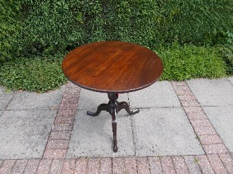 Antique Mahogany Georgian Tripod Table