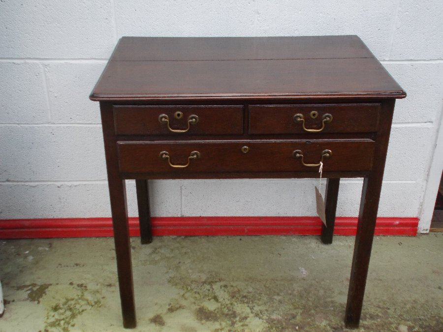GEORGIAN-WELSH-OAK-LOW-BOY-C-1780-DRESSER     GEORGIAN-WELSH-OAK-LOW-BOY-C-1780-DRESSER     GEORG...