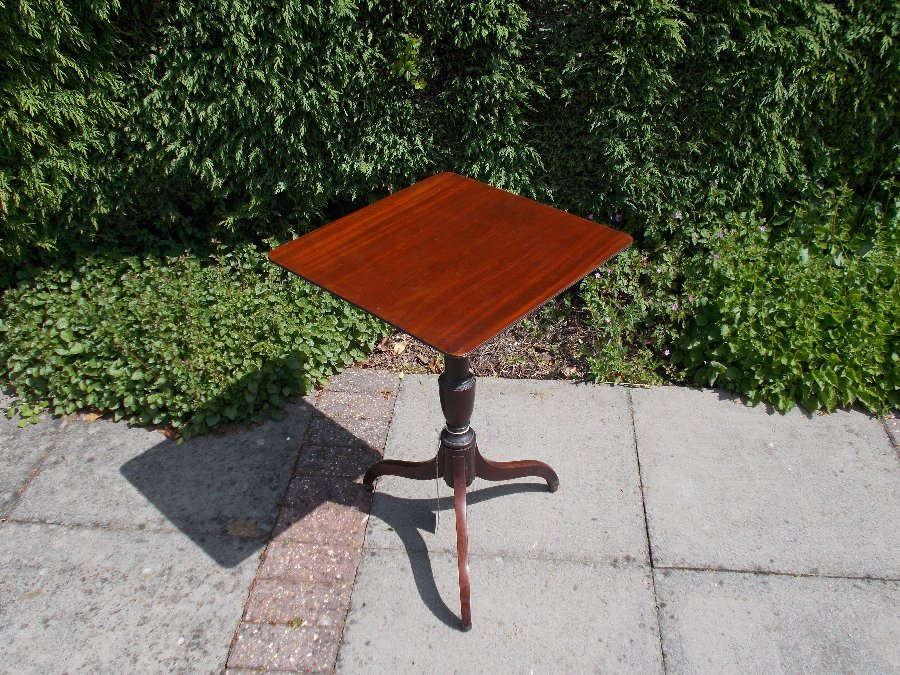 Country Made Tripod Table in Mahogany C1840