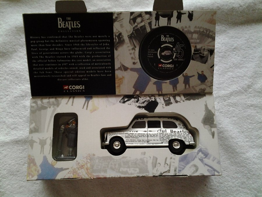 Original Beetles Corgi Car in Box
