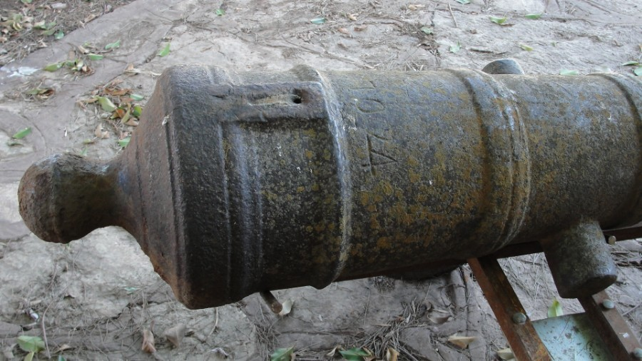 Antique ORIGINAL SPANISH CANNON ARGENTINE CIVIL WAR