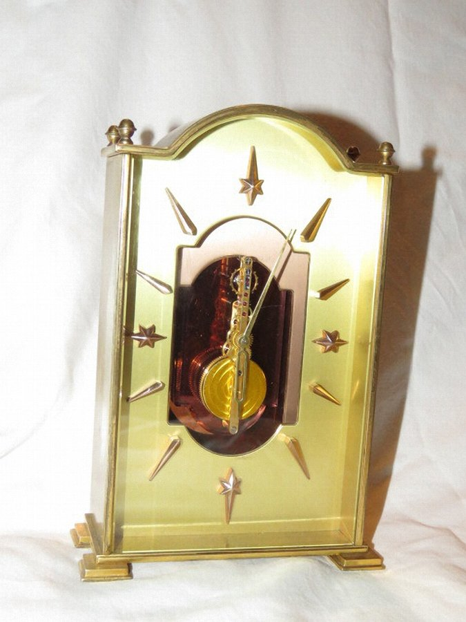 Rare Jaeger-LeCoultre 8 day table clock