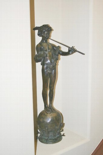 Antique Pan of Rohallion Bronze Sculpture by Frederick William MacMonnies