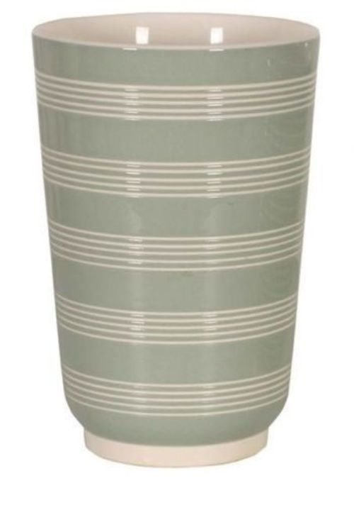 Wedgwood Vase By Keith Murray Shape no 4217 Green