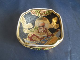 Antique CHINESE ENAMELLED SMALL BOWL/CUP