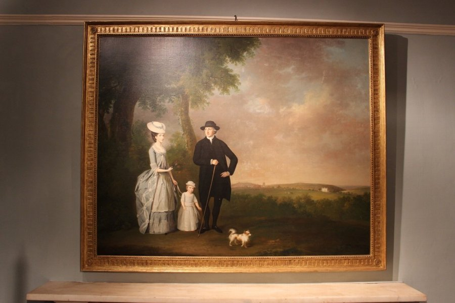Oil on Canvas Attributed to Wiliam Williams (1727-1791)