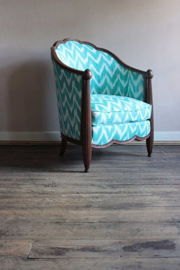 Antique Early 20th century French Art Deco Armchair
